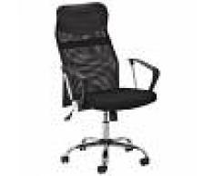 JYSK Chaise de bureau pivotante Leon (noir)
