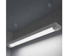 vidaXL Lampe Led au Plafond Blanc Froid avec accessoire de montage 14 W