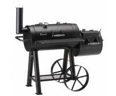 Landmann Fumeur de barbecue Tennessee 400 78 x 39 cm Noir