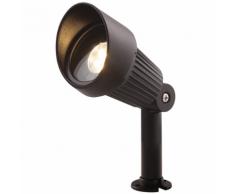Garden Lights Projecteur LED Focus en aluminium noir 3151011