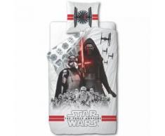 Disney Ensemble de housse couette enfant Star Wars 200x140 cm Blanc