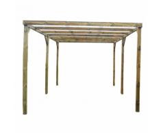 Habrita HABRITA - Carport économique en bois autoclavé