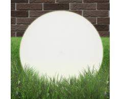 vidaXL Boule lumineuse extérieure 50 cm E27 en PMMA