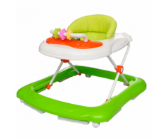 vidaXL Trotteur pour bébé Vert