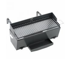 Landmann Barbecue au charbon de balcon 49 x 18 cm Noir