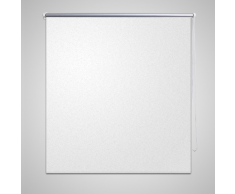 vidaXL Store enrouleur occultant 120 x 230 cm blanc