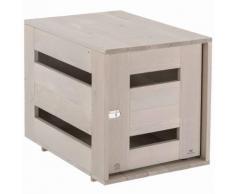 Ferplast Cage en bois pour chien Home M 84 x 57 63 cm 87030221