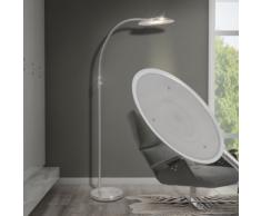 vidaXL Lampadaire à arc LED avec éclairage réglable 18 W