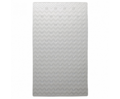 Sealskin Tapis de bain antidérapant Leisure 40 x 70 cm Transparent