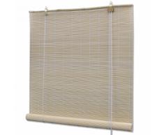 vidaXL Store enrouleur bambou naturel 140 x 160 cm