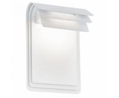 """EGLO Lampe murale LED d'extérieur """"Sojo"""" 5 W blanc"""