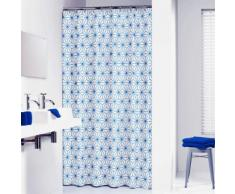 Sealskin Rideau de douche Triangles de 180 cm Bleu 233611321