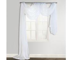 vidaXL Voilage drapé blanc 140 x 600 cm