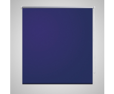 vidaXL Store enrouleur occultant 140 x 175 cm bleu