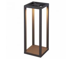 SMARTWARES Lampe à LED de jardin 9 W Noir GPI-002-HS