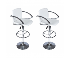 vidaXL Tabouret design Dynamic (Lot de 2)