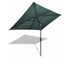 vidaXL Parasol 200 x 300 cm Vert Rectangulaire