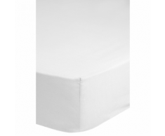 Emotion Drap-housse sans repassage 90 x 200 cm Blanc 0220.00.42