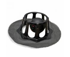 Robomop Balayeuse de Plancher Robotisée Base Souple Noir ROM002