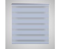 vidaXL Store enrouleur tamisant 120 x 230 cm blanc