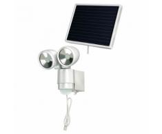 Brennenstuhl Projecteur solaire LED SOL 2 x 4 Blanc W