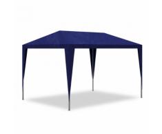 vidaXL Tonnelle de jardin/Tente réception Chapiteau Bleu 3x3m