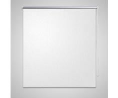 vidaXL Store enrouleur occultant 80 x 230 cm blanc