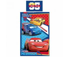 Disney Ensemble de housse couette enfant Cars Piston Cup 200x140cm