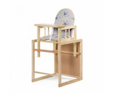 CHILDWOOD Chaise haute 2 en 1 Pinède HCCPNS