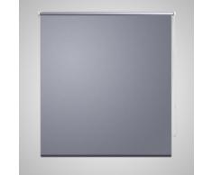vidaXL Store enrouleur occultant gris 40 x 100 cm