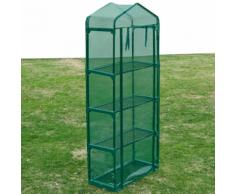 vidaXL Serre de jardin 69 x 32 160 cm