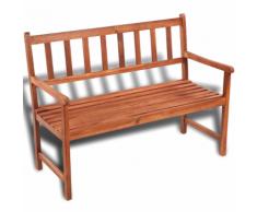 vidaXL Banc de jardin classique en bois