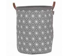 Sealskin Panier à linge Triangles Gris 60 L 361882012