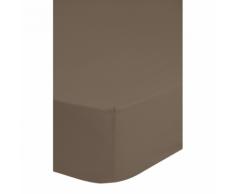Emotion Drap-housse sans repassage 180 x 200 cm Taupe 0220.86.46