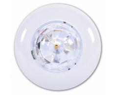 Party Fun Lights Ampoule d'ambiance disco rotative avec télécomande