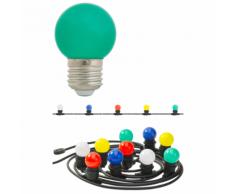 Luxform Guirlande lumineuse avec 20 LED colorées W LUX09932