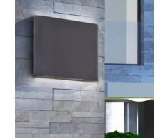 vidaXL Applique murale extérieure LED 7,2W Noire