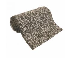 """Ubbink Revêtement d'étang en pierre """"Classic"""" 5 x 1 m gris"""