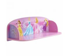 Disney Étagère à livre pour enfant Princess 59x20x20cm Rose WORL660004