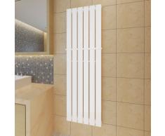 vidaXL Porte-serviette 465mm + Radiateur panneau blanc x 1500mm