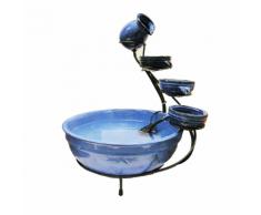Ubbink Jeu de pots pour fontaine céramique design cascade Acqua Arte