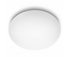 Philips Plafonnier LED myLiving Suede Blanc 4 x 10 W 318033116