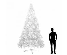 vidaXL Sapin de Noël artificiel XXL 400 cm Blanc