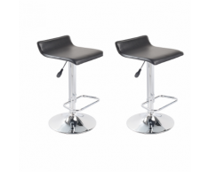 vidaXL Tabouret design Texas lot de 2