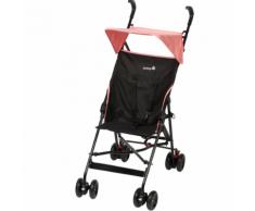 """Safety 1st Poussette bébé avec pare-soleil """"Peps"""" Noir et rose"""