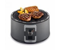 Trebs Barbecue portable à charbon 35 cm noir