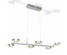 vidaXL Plafonnier en suspension LED avec 6 ampoules sphériques