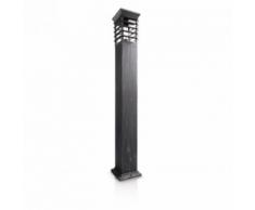 Philips Borne déco Patio IP44 H104 cm - Noir