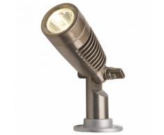 """Garden Lights Projecteur LED """"Minus"""" Aluminium Bronze à canon"""