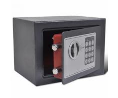 vidaXL Coffre-fort numérique électronique 23 x 17 cm